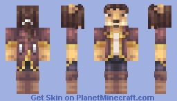Garth the Sea-lion Merchant Minecraft Skin
