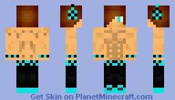 Blue 6 pack Boy Minecraft Skin