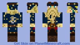 Davy Jones Minecraft Skin