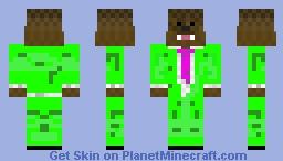 green bacca Minecraft Skin