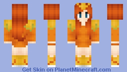 •¡¢яєѕѕєℓια!• Torchic Girl Minecraft Skin