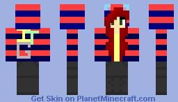 ~Foxy Natsuki~ TheITGamers Minecraft Skin