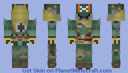 TitanFall-MCOR Battle Pilot  ♦SoyMonkey♦ Minecraft Skin