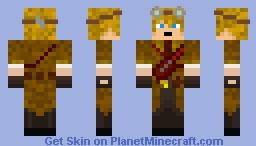 Steam Punk Guy Minecraft Skin