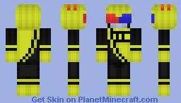 Mituna Captor Minecraft Skin