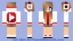 Youtube Girl Minecraft Skin