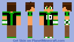 Ben 10 from Ben 10: Omniverse Minecraft Skin