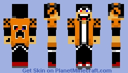 Just Crazy Minecraft Skin