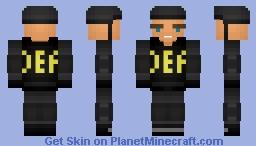 DEA Agent [1.8] Minecraft Skin