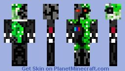 For Levai Creeper termenator. Minecraft Skin