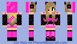 Ellie - The Dubstep Kitty Minecraft Skin
