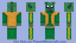 Greedo The Bounty Hunter Minecraft Skin