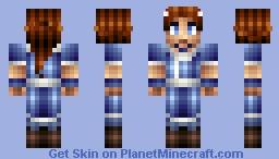 Katara of the WaterTribe Minecraft Skin