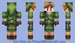 Link - From Legend Of Zelda Minecraft Skin