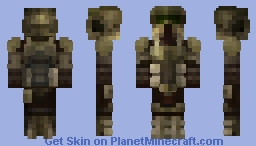 41st Elite Corps Scout Trooper (White version in desc) - StarWars skin saga - ImperiumMC Minecraft Skin