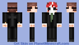 Payday 2 inspired character (New shading technique test) Minecraft Skin