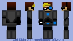 (Quad_B) Quad_B Stelth Minecraft Skin