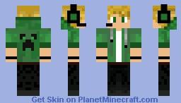 Blonde Boy In Suit Minecraft Skin