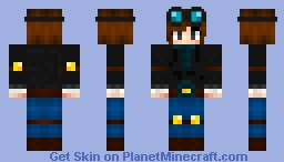 TeamTDM Girl Minecraft Skin
