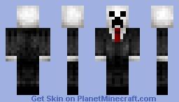 Slender Creeper Minecraft Skin