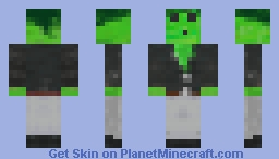 Slime Man Minecraft Skin