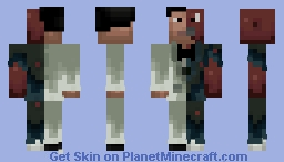 Two Face (Arkham) Minecraft Skin