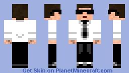 Secret Agent Minecraft Skin