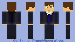 Buisiness Man Minecraft Skin