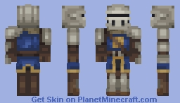 Dark Souls - Elite Knight set Minecraft Skin