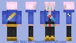 Future Trunks Minecraft Skin