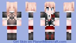 Dangan ronpa - Junko Enoshima Minecraft Skin
