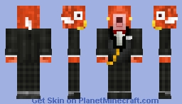 [➒➌°] ¨ Magikarp ¨ ( 20 Subscribers Special, Thanks All!) Minecraft Skin