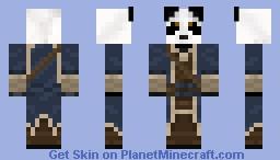 Panda Librarian Minecraft Skin