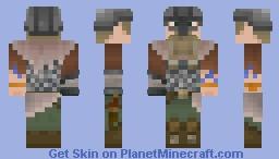 Wulfr the viking Minecraft Skin
