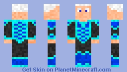 Ice King: Inspired by the movie Frozen w/out crown Minecraft Skin