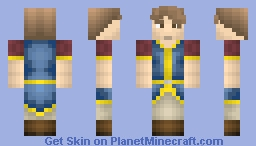 My First Skin !!! Servant :D Minecraft