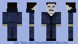 Micheal Myers (Updated) Minecraft Skin
