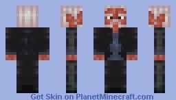 Morgan Freeman Minecraft Skin