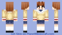 Nagisa Furukawa Minecraft Skin