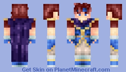 ✰ᑭIKᗩ✰~ Roy! *200 subbies ♥* (better in 3D) Minecraft Skin
