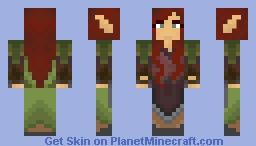 Forest Elfess Minecraft Skin