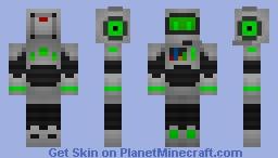 Robot Cartoon Skin Minecraft Skin