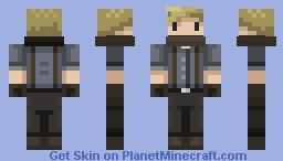 Rail Man Joe Minecraft Skin