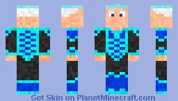 Ice King: Inspired by the movie frozen w/ crown Minecraft Skin