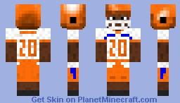 Timothy Flanders - SHSU Bearkats 2013 Minecraft Skin