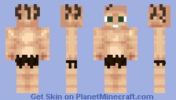 Gollum - The Hobbit [UNDERGROUND CONTEST] Minecraft Skin