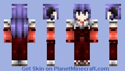 Higurashi no Naku Koro ni: Hanyuu Furude Minecraft Skin
