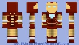 Iron Man (Mk. IV) Minecraft Skin