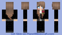 Suit Girl Minecraft Skin