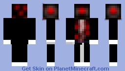 A monster Minecraft Skin